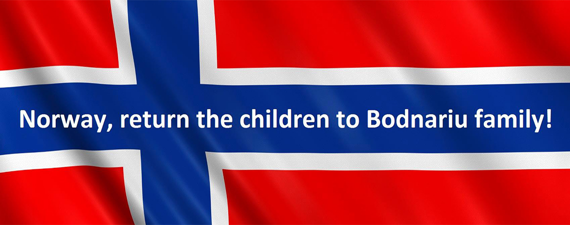 Norway, return the children to Bodnariu family!