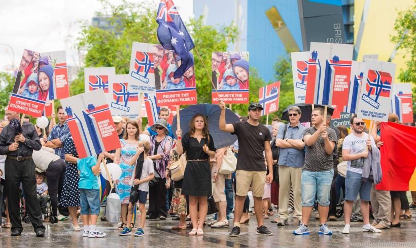 Mesajul demonstranților din Brisbane a fost puternic și deslușit